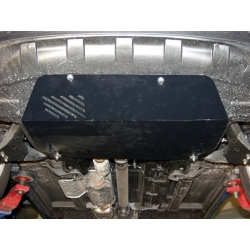 KIA Sportage II (cover under the engine and gearbox) - Aluminium