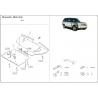 Range Rover / Supercharged kryt pod motor 4.2 Kompressor, 4.4l V8 - Hliník
