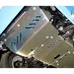 Lexus GX (cover under the engine and steering) 4.7 - Metal sheet
