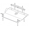 Mazda 3 (cover under the engine and gearbox) 1.5, 1.6 - Metal sheet