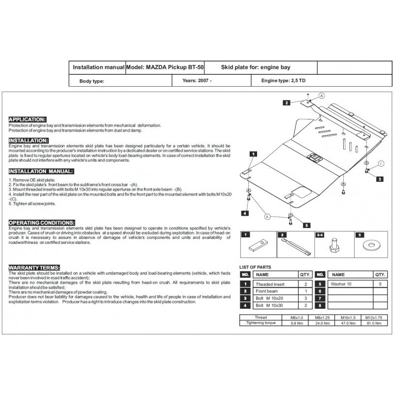 Mazda Bt 50 Wiring Diagram - Page 2 - Wiring Diagram And Schematics