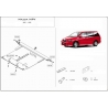 Mazda MPV (cover under the engine and gearbox) 2.3 - Metal sheet