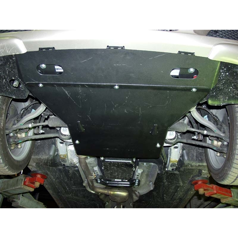 Mercedes benz c klasse coupe cover under the engine 2 3 for Mercedes benz kompressor engine