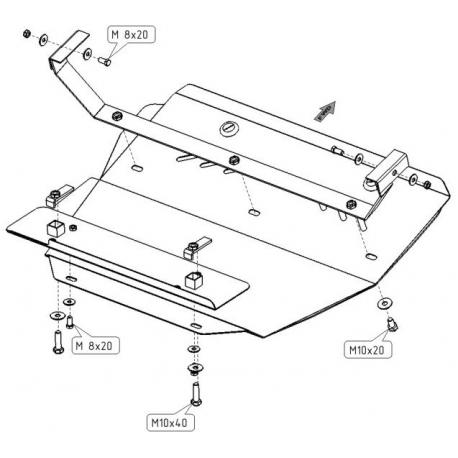 Mercedes-Benz CLK kryt pod motor 2.0 - Plech