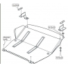 Mercedes-Benz Sprinter (cover under the engine) expect 4x4 Modelle - Metal sheet