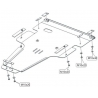Mercedes-Benz Vito (cover under the engine and gearbox) 2.2D (4x4 auf Anfrage) - Metal sheet