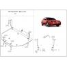 Mitsubishi Galant Kryt pod motor a převodovku 2.4 - Plech