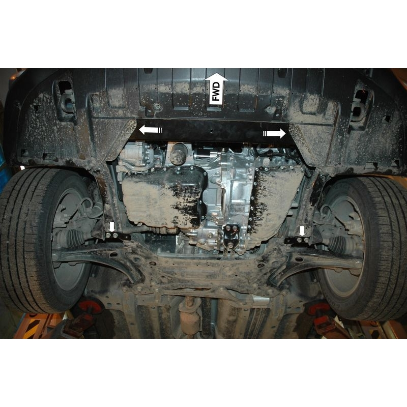 Mitsubishi Outlander (cover under the engine and gearbox) 2 0, 2 4