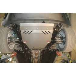 Nissan Juke (cover under the engine and gearbox) - Aluminium