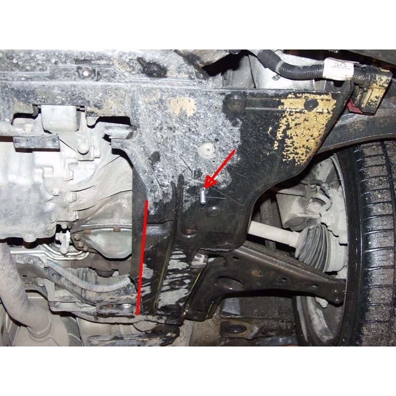 Opel Astra G Kryt Pod Motor A Převodovku Plech