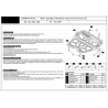 Opel Zafira A (cover under the engine and gearbox) - Metal sheet