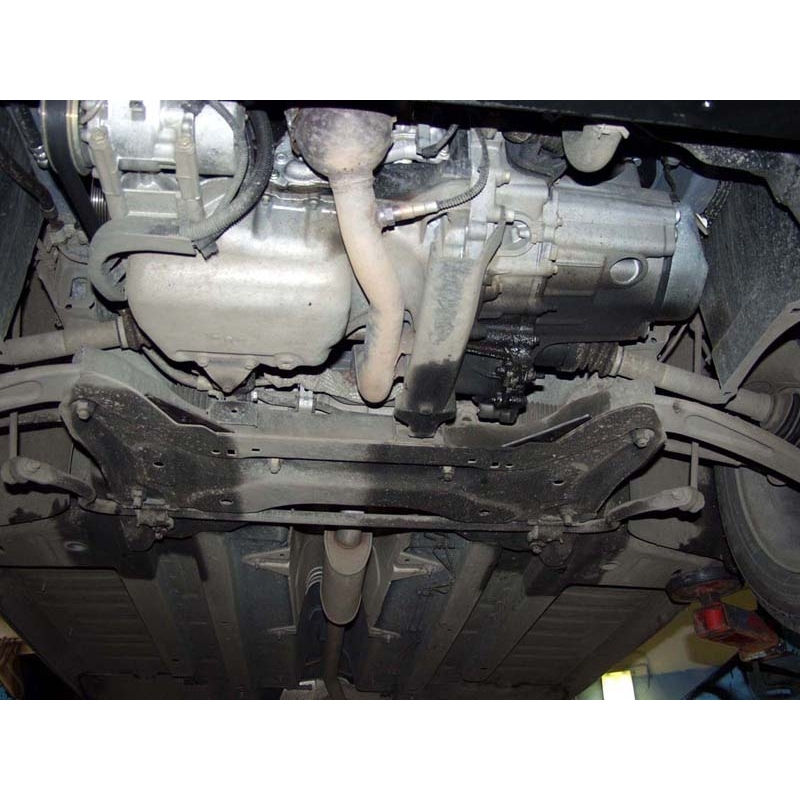 Peugeot 307 (cover under the engine and gearbox) - Metal sheet