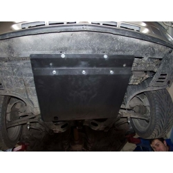 Renault Laguna (cover under the engine and gearbox) - Metal sheet