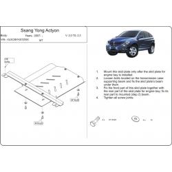 Ssang Yong Actyon kryt pod převodovku 2.0 TD, 2.3 - Plech