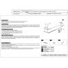 Subaru Impreza (differential cover rear axle) 1.6, 1.8, 2.0, 2.5 - Metal sheet