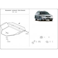 Subaru Legacy III (cover under the engine) 2.5 - Metal sheet