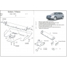 Subaru Tribeca kryt pod motor 3.0 - Plech