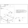 Suzuki Ignis (cover under the engine and gearbox) 1.3 - Metal sheet