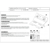 Toyota FJ Cruiser (steering cover) 4.0 - Metal sheet
