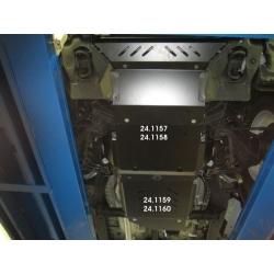 Toyota Hilux / Vigo kryt pod motor 2.5 D-4D, 3.0 TD - Plech