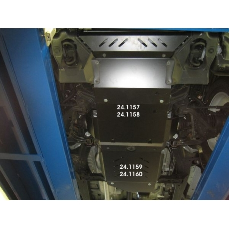 Toyota Hilux / Vigo (cover under the engine) 2.5 D-4D, 3.0 TD - Metal sheet