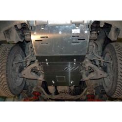 Toyota Land Cruiser 120 / Prado (Abdeckung unter den Motor und die Lenkung) 4.0 - Stahl