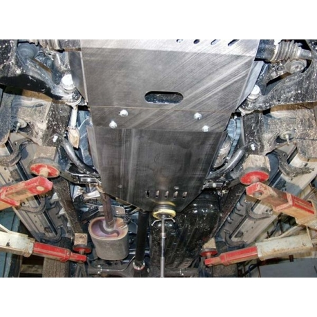 Toyota Land Cruiser 120 / Prado kryt pod převodovku 4.0 - Plech