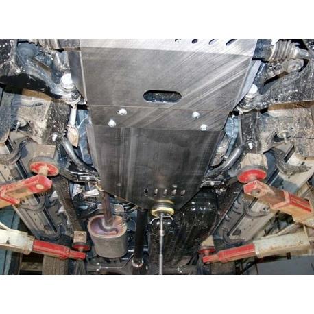 Toyota Land Cruiser 120 / Prado (cover under the gearbox) 4.0 - Metal sheet