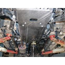 Toyota Land Cruiser 120 / Prado (cover under the gearbox) 4.0 - Aluminium