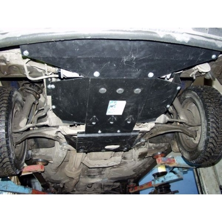 Volvo 940 / 960 (Cover the automatic transmission) 2.5, 3.0 - Metal sheet