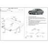 Volvo S80 (cover under the engine and gearbox) 2.5T - Metal sheet