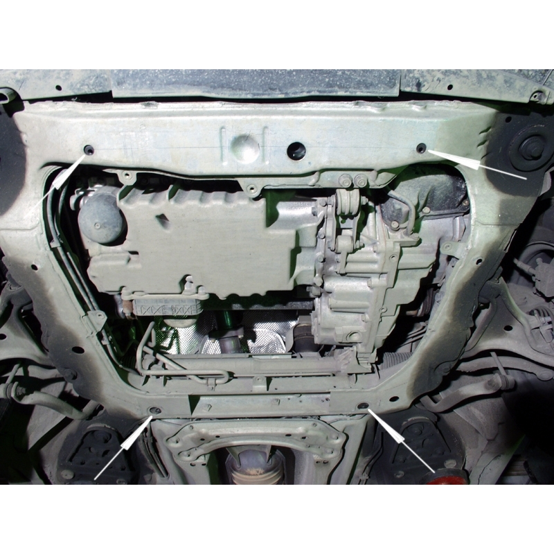 Volvo V70 V70 Xc Cross Country Cover Under The Engine