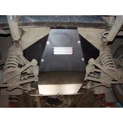 Lada Niva (cover under the engine) ohne Katalysator - Metal sheet