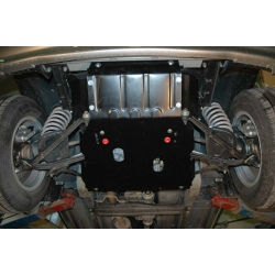 Lada Chevrolet Niva (cover under the engine) 1.7 - Metal sheet