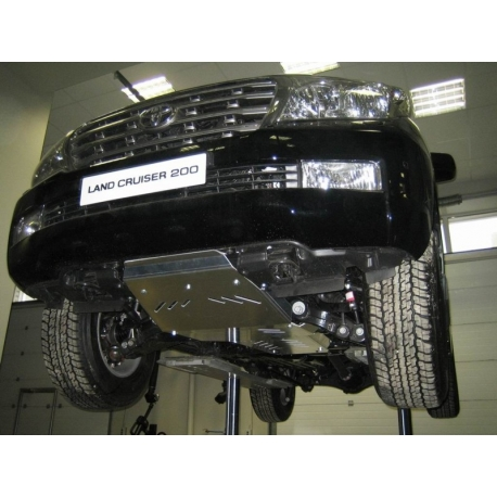 Toyota Land Cruiser 200 (cover under the gearbox) 4.7, 4.5TD - Metal sheet