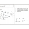 Toyota RAV 4 (cover under the engine and gearbox) 1.8, 2.0 - Metal sheet