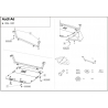 Audi A6 (cover under the engine) 2.0 - Metal sheet