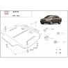 Audi A4 (cover gearbox) 2.5 TDi - Metal sheet