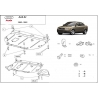 Audi A4 (cover under the engine) 1.6 - 2.0, 1.9TDi - Metal sheet