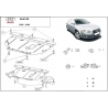 Audi A4 (cover under the engine) 2.0, 1.6, 1.8, 1.9TDi, 2.0TDi - Metal sheet