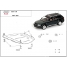 Audi A6 (cover gearbox) 2.6, 2.8, 2.5D, 2.4TDi - Metal sheet