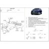 Audi Q7 ne s Off Road Style Paket kryt pod motor 3.6 FSI, 4.2 FSI - Plech