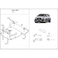 Audi Q7 Offroad Style Paket kryt pod motor - Plech