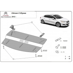 Citroen C Elysee (cover under the engine)
