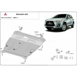 Mitsubishi ASX (cover under the engine)
