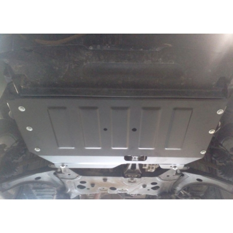 Ford Transit Tourneo Custom Cover Under The Engine And Gearbox   Tdci Metal Sheet