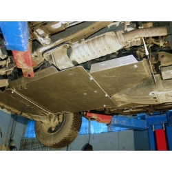 Mitsubishi Pajero III (cover under the gearbox) - Aluminium