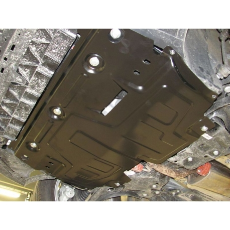 Škoda Fabia II /RS, Scout, Combi (cover under the engine and gearbox) 1.2, 1.4, 1.6 - Metal sheet