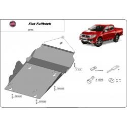 Fiat Fullback Getriebeschutz - Stahl