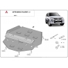 Mitsubishi Pajero IV Cover under the gearbox - Metal sheet